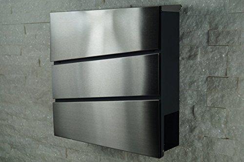 p es 1000 n pad na t ma briefkasten edelstahl na. Black Bedroom Furniture Sets. Home Design Ideas