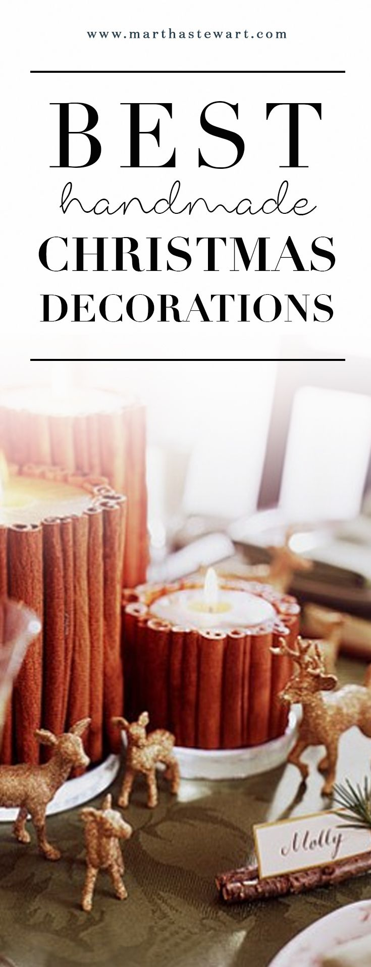 The Best Handmade Christmas Decorations  25 best ideas about Handmade  christmas decorations on Pinterest. Handmade Home Decoration Items Video   Kisekae Rakuen com