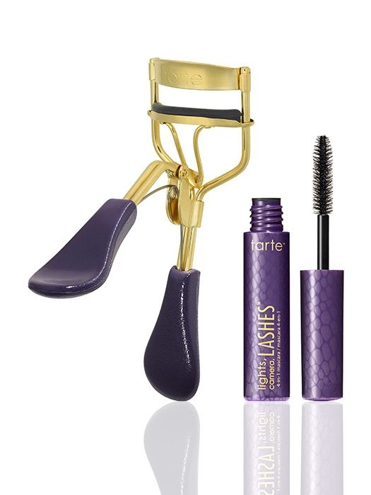 picture perfect™ eyelash curler &  deluxe lights, camera, lashes™ 4-in-1 mascara  from tarte cosmetics