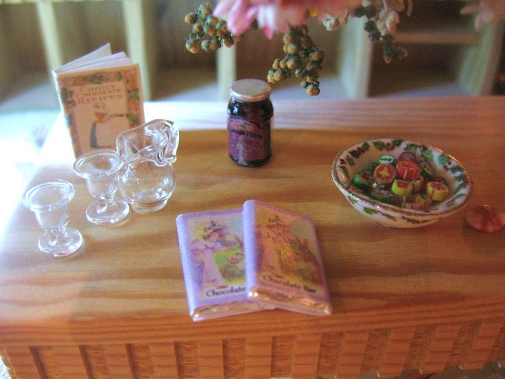 Dollhouse Chocolate Bar X 1 Easter Vintage Themed 12th Scale Miniature By Rainbowminiatures On Etsy