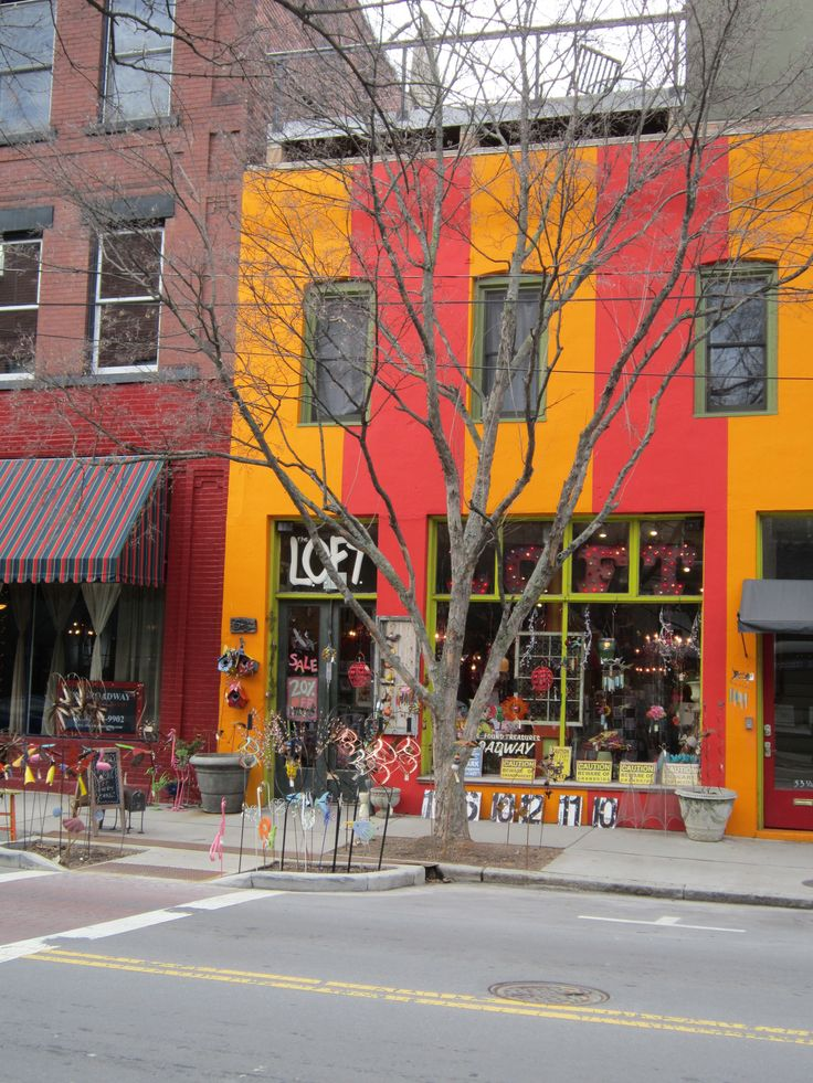 Asheville  Loft Favorite Places To Shop For Gifts.