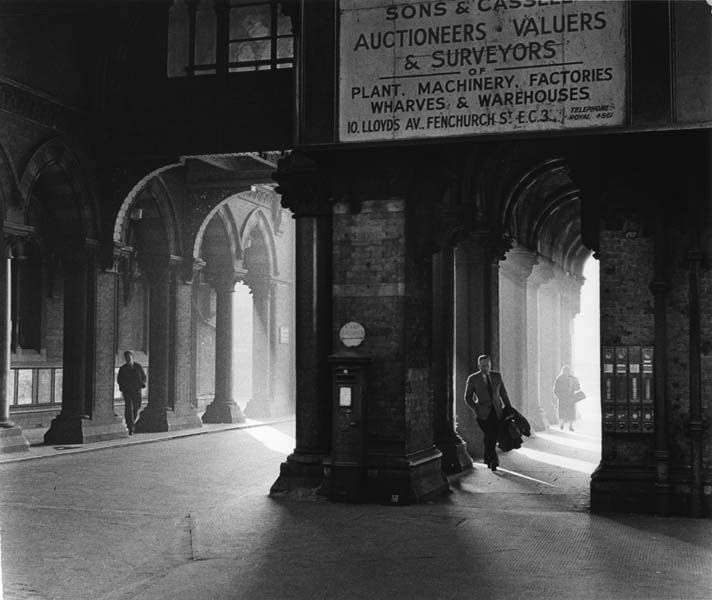 St Pancras station by Colin T Gifford