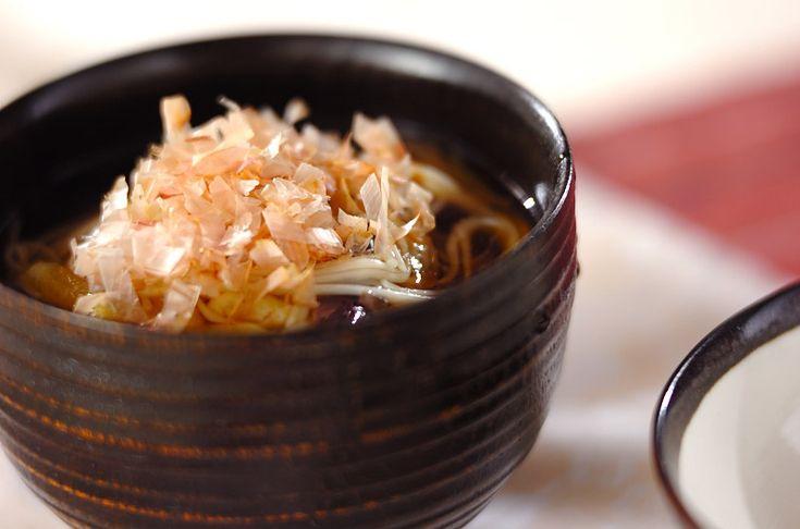梅ナス素麺のレシピ・作り方 - 簡単プロの料理レシピ   E・レシピ