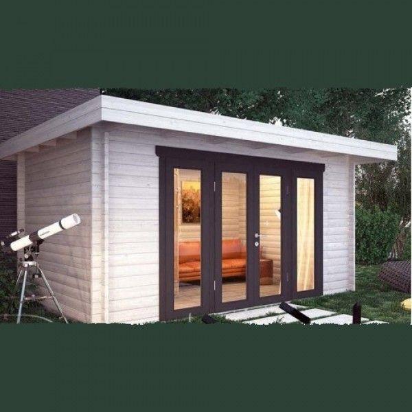 Nida Panorama Modern Log Cabin - Log Cabins