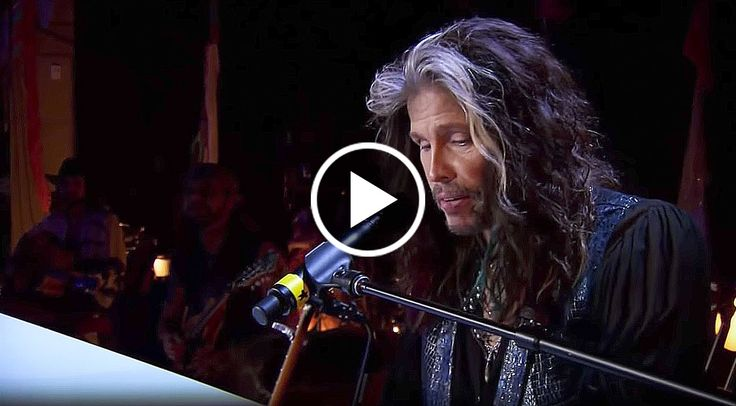 Steven Tyler Belts Out Dream On Like Nobody's Business! There are very few people in the world who have a voice like Steven Tyler. The man is iconic for his soulful melodies/harmonies and his beautiful yet glass shattering high notes. But above all else, Steven Tyler is arguably the most beloved ro