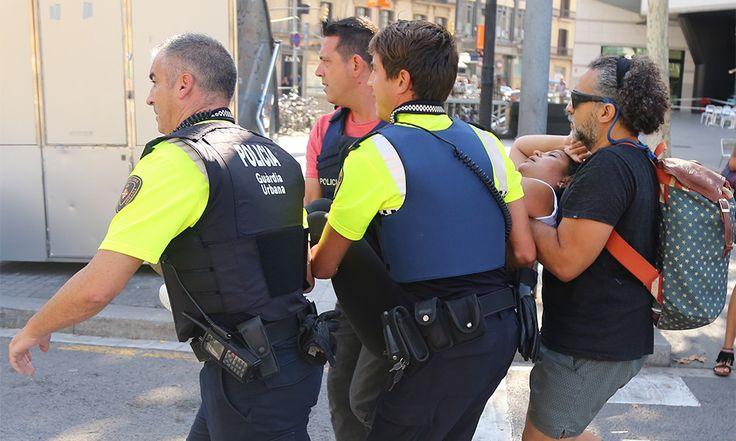 Hay una dominicana entre los heridos del atentado en Barcelona