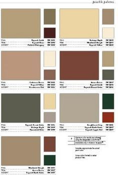 colors to paint in a log cabin - Google Search
