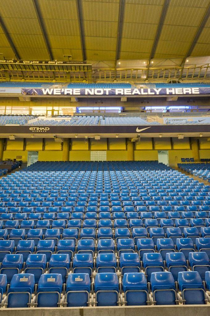 Etihad Stadium, home of Manchester City football club.