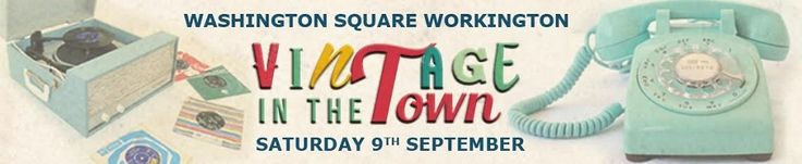 VINTAGE IN THE TOWN http://www.cumbriacrack.com/wp-content/uploads/2017/09/VITT.jpg RETRO lovers are dusting off their dancing shoes – from blue suede to platform – as Workington prepares to take a step back in time for the town's first festival of its kind – Vintage in the Town    http://www.cumbriacrack.com/2017/09/03/vintage-in-the-town/