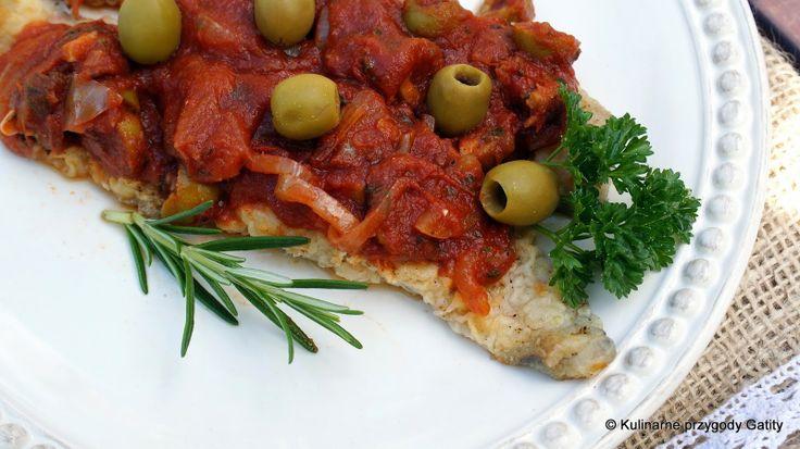 Merluza a la mediterránea, czyli morszczuk po śródziemnomorsku
