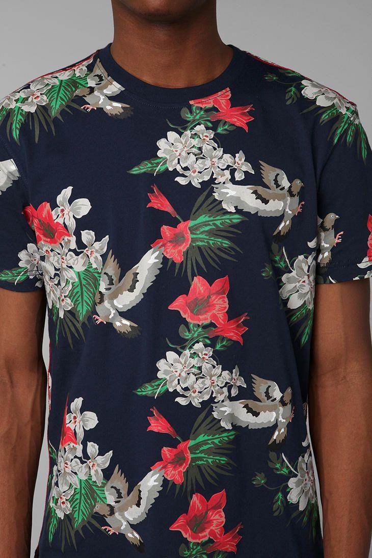 Staple Venderberg Floral Tee - Urban Outfitters