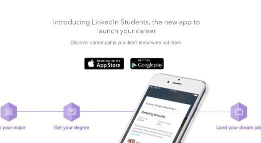 LinkedIn lance une application pour aider les étudiants à trouver leur premier job