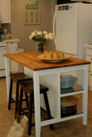 Do you want to get some small kitchen island ideas for your modestly