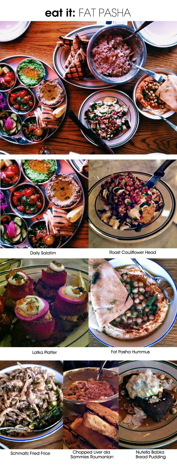 eat it: Fat Pasha in Toronto, a blend of Israeli and Sephardic food