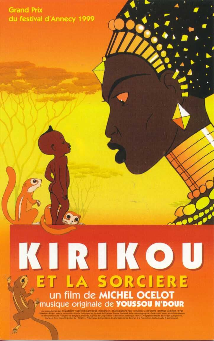 Another foreign (France), animated family film to add variety to family movie night! (Available dubbed in English) This is about a tiny baby, Kirikou, who is very clever and must outsmart an evil sorceress who is a threat to his village. Be forewarned that animated nudity is everywhere in this film. (Think National Geographic -- not sexual but just a reality of life.)