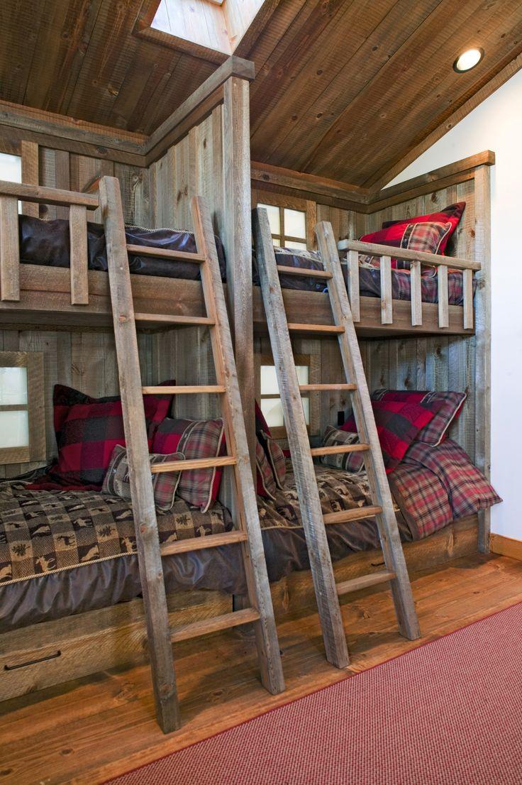 659 best images about little house living on pinterest for Cabin loft bedroom ideas