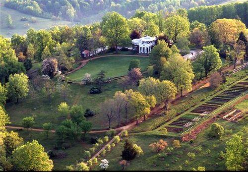 Monticello, Virginia, home of Thomas Jefferson