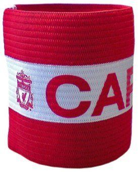 Liverpool FC Captains Armband by Liverpool. $6.95. Official Liverpool FC Product. Velcro attachment. Imported from the UK. LIVERPOOL F.C. Captains Arm Band Official Licensed Product