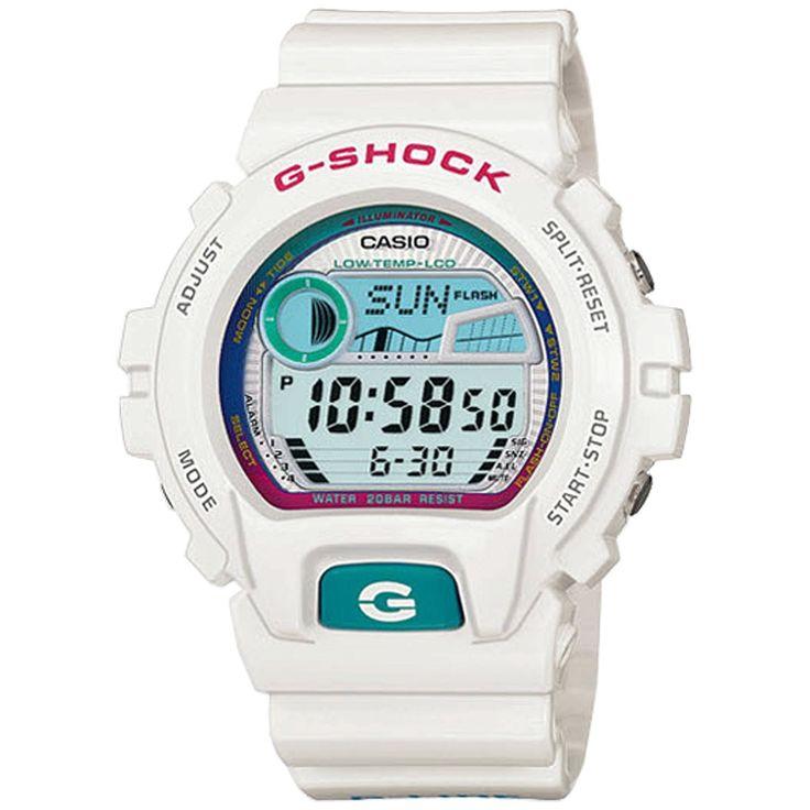 Casio G-Shock Watches GLX6900-7 WHITE BLUE
