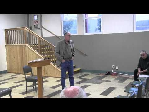 Congressman Greg Walden Town Hall meeting in Lakeview 9-14-2015