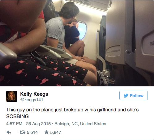 Woman Live-Tweets the Nauseating Turbulence of an Airplane Breakup