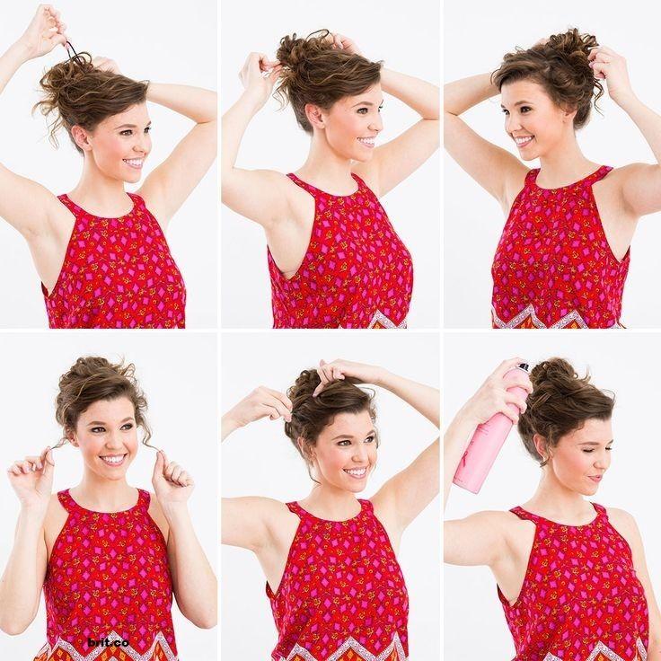 26 Coiffures Pour Cheveux Bouclés Vous Donneront Envie D'avoir Des Jolis Boucles!