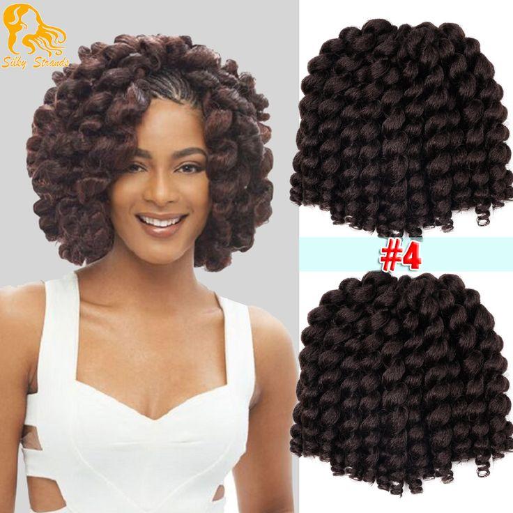Jumpy Wand Curls Crochet Braids Freetress Hair Extensions Bounce Jamaican Twist Afro Kinky Havana Mambo Wand Curls