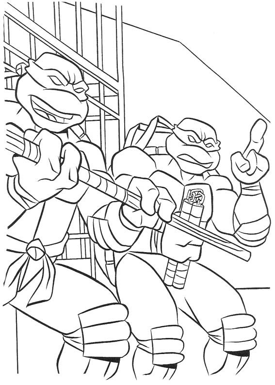 88 best ninja turtles coloring pages images on pinterest | teenage ... - Ninja Turtle Pizza Coloring Pages