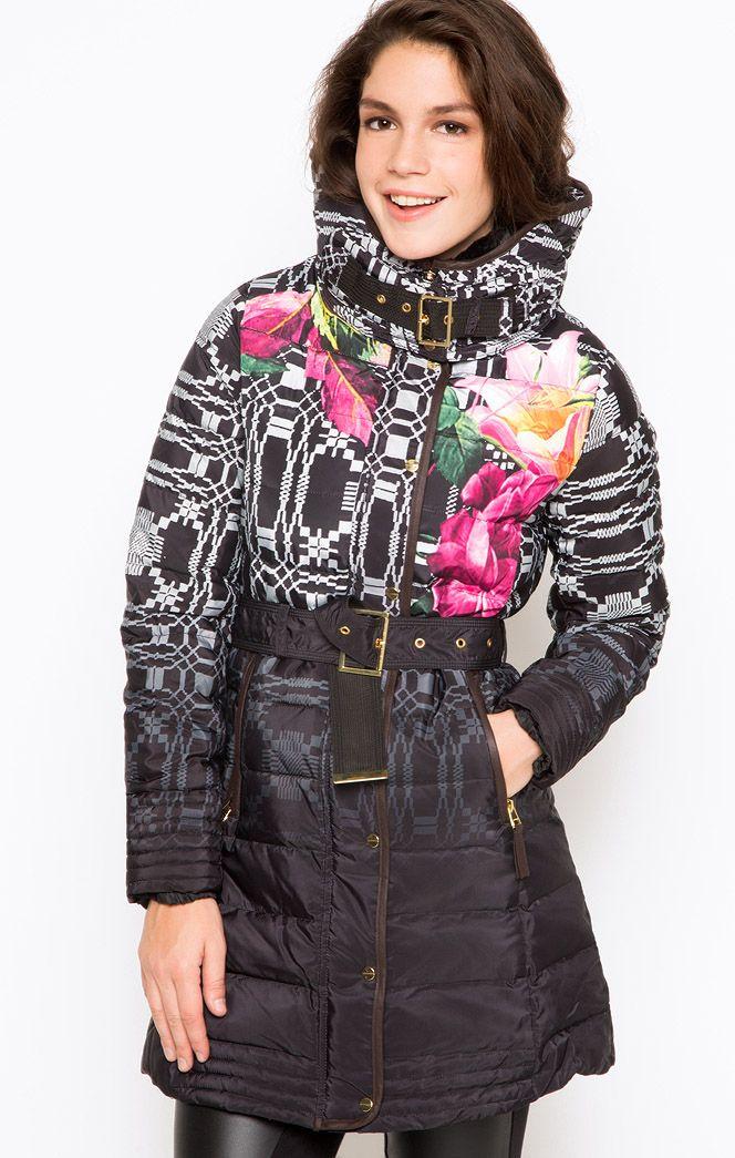 Осень-Зима 2014-2015 Бутик.ру - Пуховик Desigual 48E2976/2000 купить в интернет-магазине одежды, обуви, сумок, аксессуаров. Цена: 17 990 р.