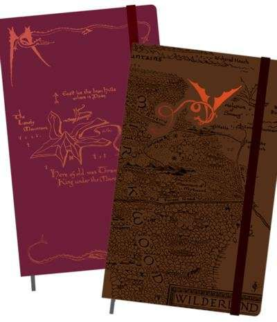 Moleskine Hobbit Notebooks Celebrate the Upcoming Trilogy #school trendhunter.com
