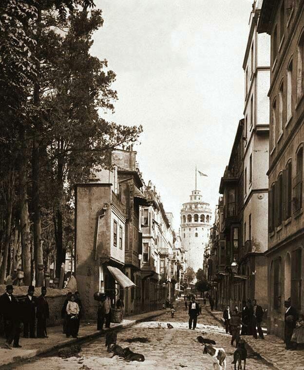 Galata Kulesi (1900'lü yılların başı) #istanbul