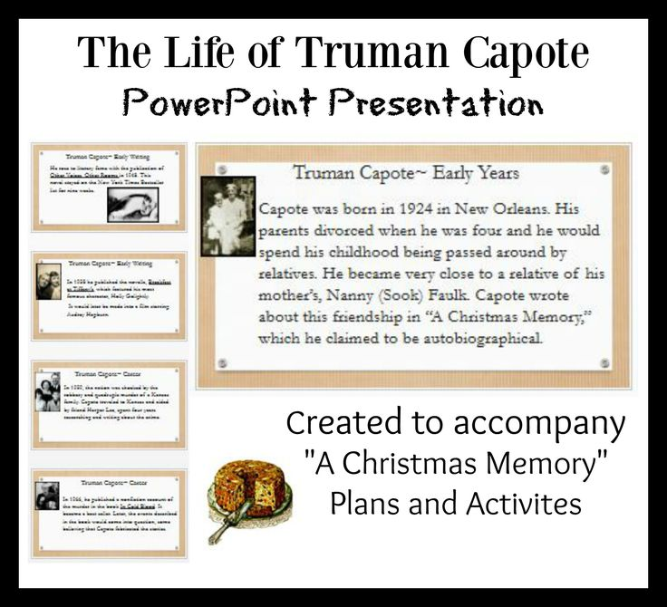 8 best short stories lesson plans and activities images on pinterest truman capote life and writings ppt free download fandeluxe Choice Image