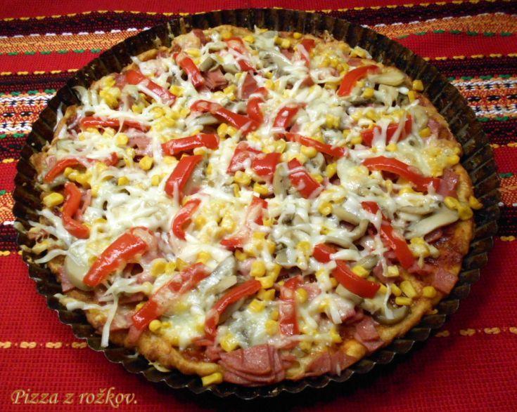 Fotorecept: Pizza z rožkov