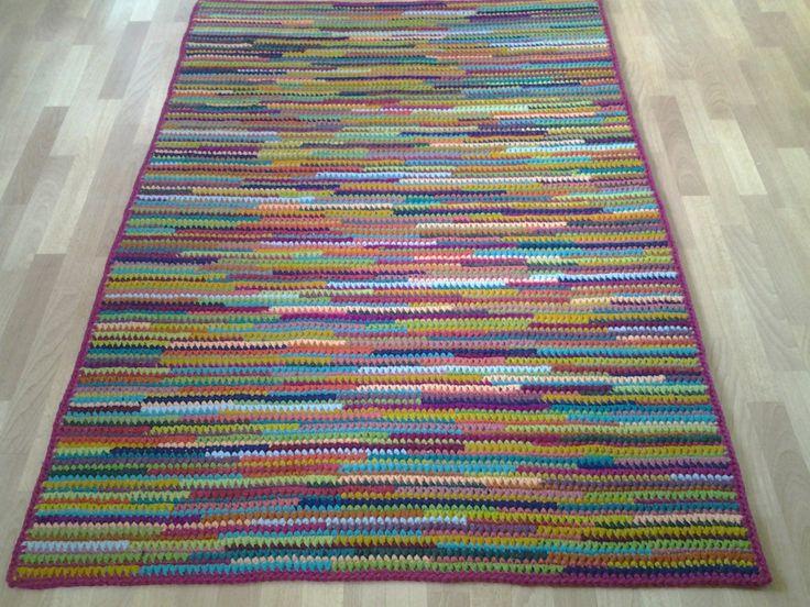 Crochet Square Rug/Rectangular Rug 180 cm/130 cm/Crochet Rug/Rugs/Rug/Area Rugs/Floor Rugs/Large Rugs/Handmade Rug/Carpet/Wool Rug by AnuszkaDesign on Etsy