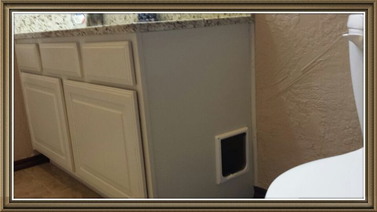 bathroom litter box cabinet 2