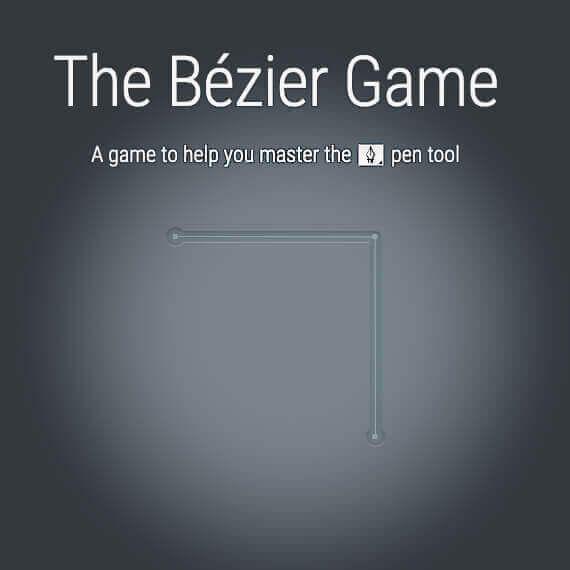 the bezier game pfade und kurven in illustrator photoshop zeichnen lernen procreate vektorgrafik online erstellen