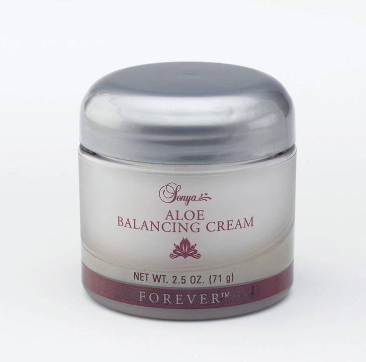 Forever Living - Aloe Balancing Cream. Contains aloe, HA, vitamin ...