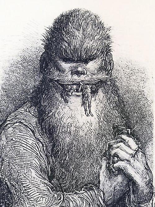 Gustave Doré, from Orlando Furioso, 1877, via jahsonic.wordpress.com