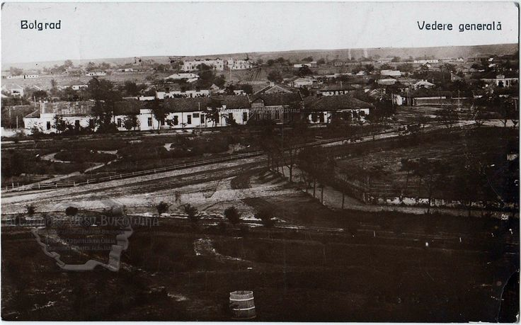 Ismail. Plasa Bolgrad. Oraşul Bolgrad. Vedere generală. 1920