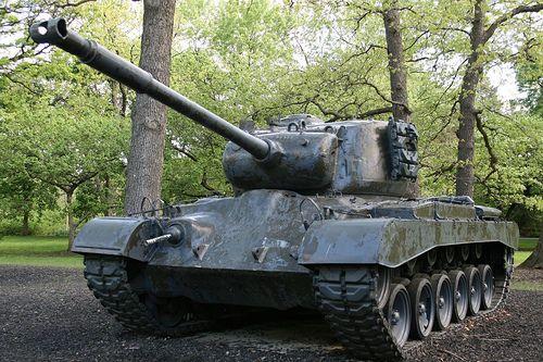 military picture: M46 Patton Tank