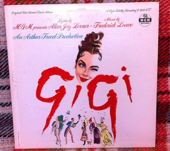 Gigi Movie Soundtrack LP Vinyl Record Original by chezToulouse