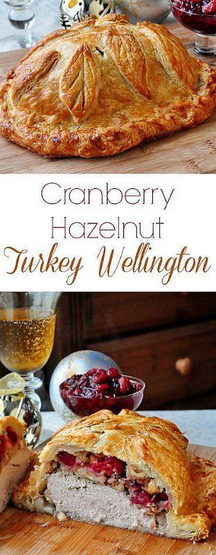 Cranberry Hazelnut Turkey Wellington ❊