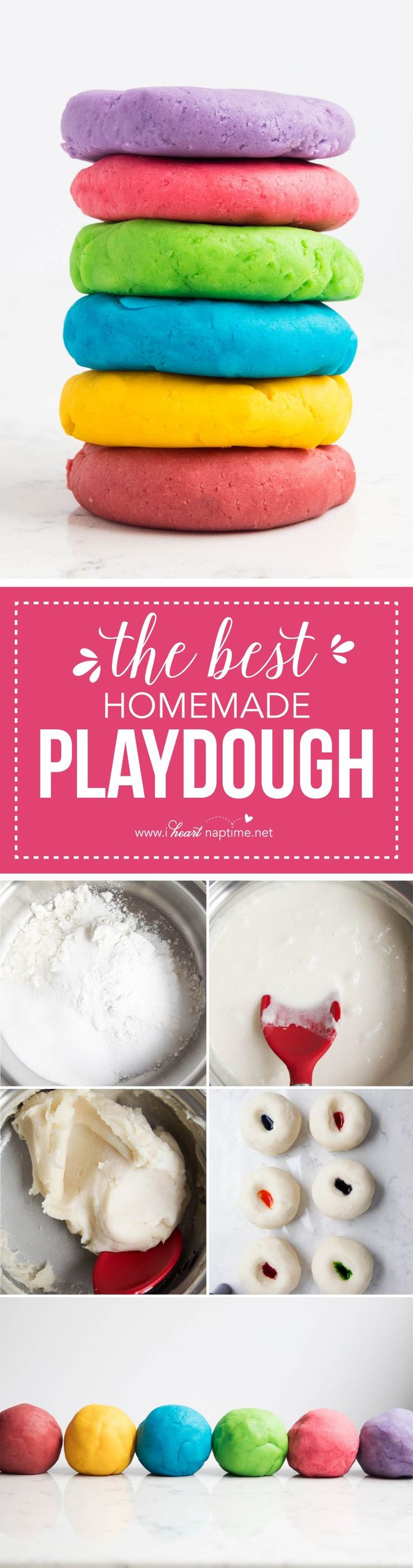 The BEST play dough recipe - make in less than 5 minutes for under a $1 and have it last for months! It is so soft and squishy and cuts perfectly with cookie cutters. Made in partnership with @krogerco #Kroger