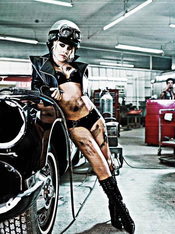 P!nk just cool. The chic just lays it all out there, emotions, everything. brave  Minus the helmet