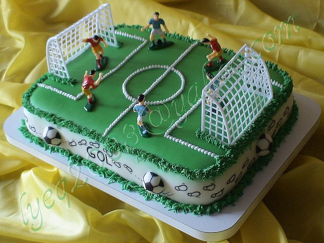 TORTA CANCHA FUTBOL | Flickr - Photo Sharing!
