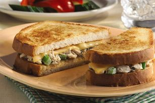 Garden Tuna Melts recipe