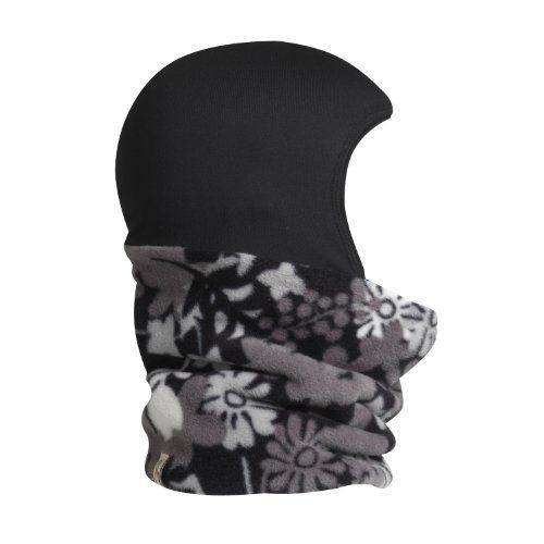 Turtle Fur - Shellaclava, Chelonia 200 Fleece Neck with Comfort Shell Hood, Balaclava, Black Flora Print by TurtleFur. $29.99. Allow our vibrant Print Shellaclava to bring a little fun to your outdoor play. It has a moisture managing hood with a double-layer fleece neck.