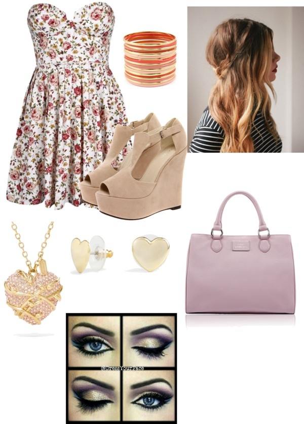 """""""semi-formal outfit c:"""" by imakeshit ❤ liked on Polyvore"""