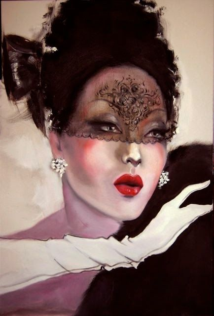 Glamour Girl by frederick watson.