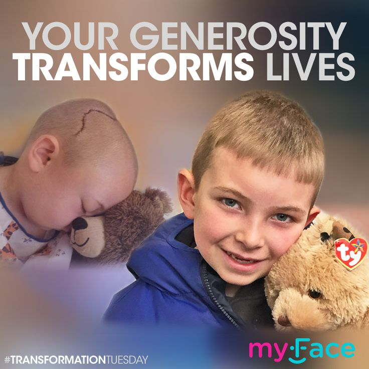 Our comprehensive care helps children eat, breathe and speak better. Together, we can transform their lives: https://www.myface.org/donate #TransformationTuesday #CharityTuesday